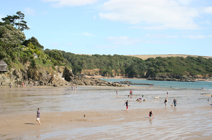 South Sands beach at Salcombe